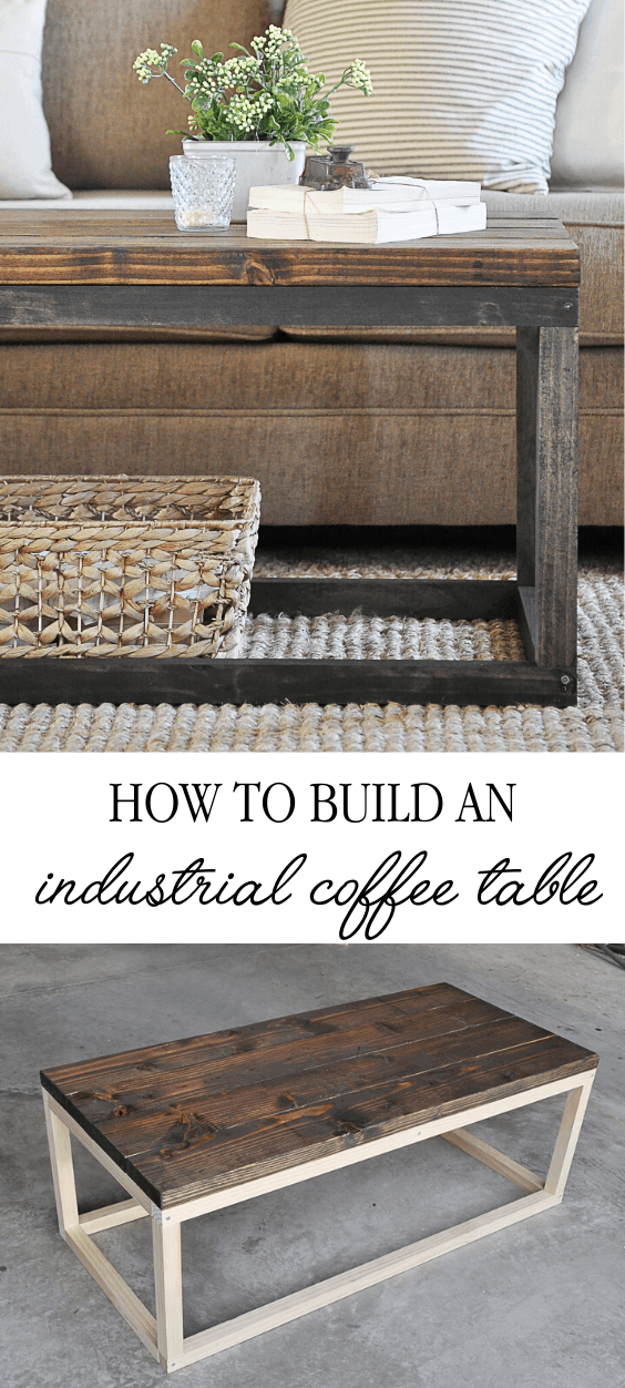 Photo of Industrial Coffee Table – Little Glass Jar