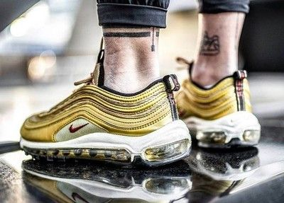 new arrivals 7dbaf 135e7 Nike Air Max 97 OG QS Metallic Gold 884421 700 Order shoes now DHL shipping  worldwide (5-7 reach) Website  www.findsneaker.net (link in my bio) DM if  you ...