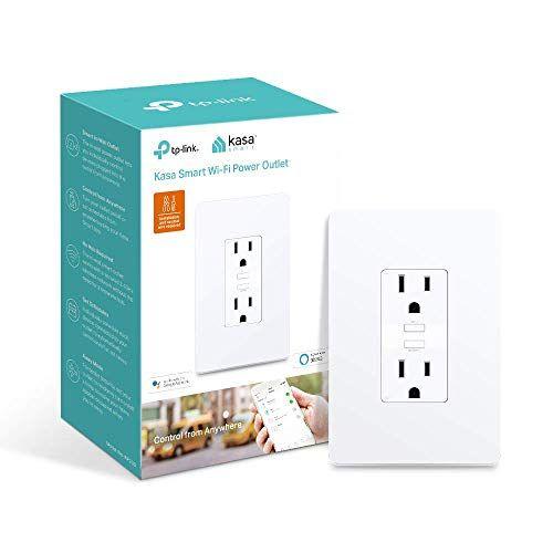 Kasa Smart Wifi Power Outlet 2 Sockets By Tp Link Smart
