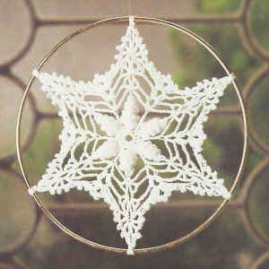 Shell Snowflake free crochet pattern