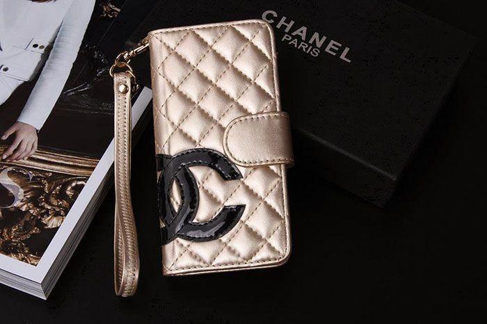 premium selection 98b25 63ebf Designer Big CC iPhone 7 7 Plus Wallet Case Gold | it | Chanel ...