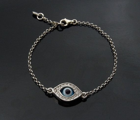 Evil Eye Anklet.  Perfect for nurses who can't wear bracelets to work. Helps bring protection from evil and some say, brings good luck. A celebrity favorite!