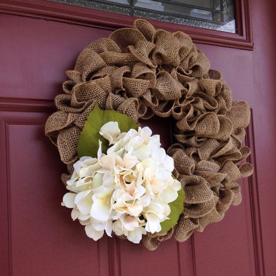 wedding decorations with burlap beautiful and burlap wreath accented with a 9167