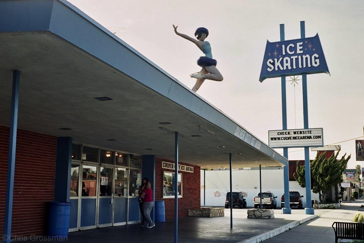 C 1995 Culver Ice Skating Rink Culver City City Culver