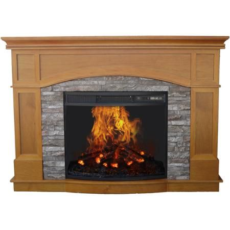 Miraculous Decor Flame Electric Fireplace With 50 Mantle Walmart Com Interior Design Ideas Inesswwsoteloinfo