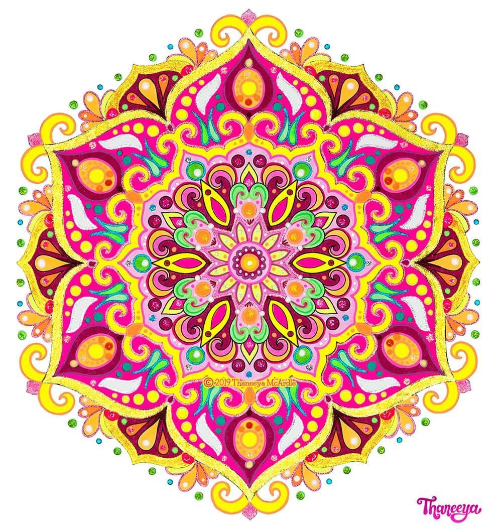 Detailed Mandala Coloring Pages - Fun Printable Coloring ...