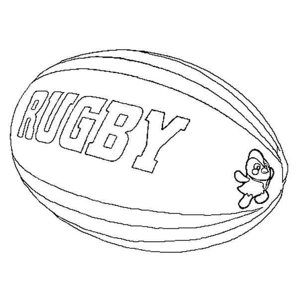 Epingle Sur Rugby Colouring