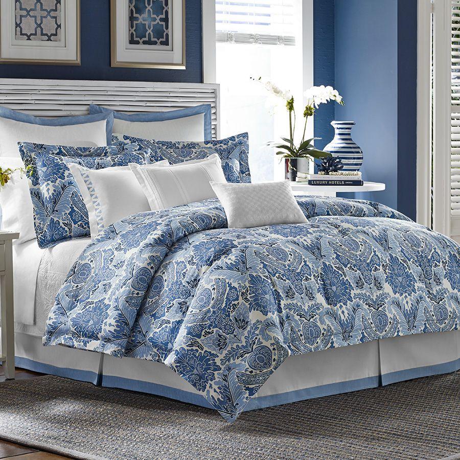 Tommy Bahama Porcelain Paradise Comforter & Duvet Set