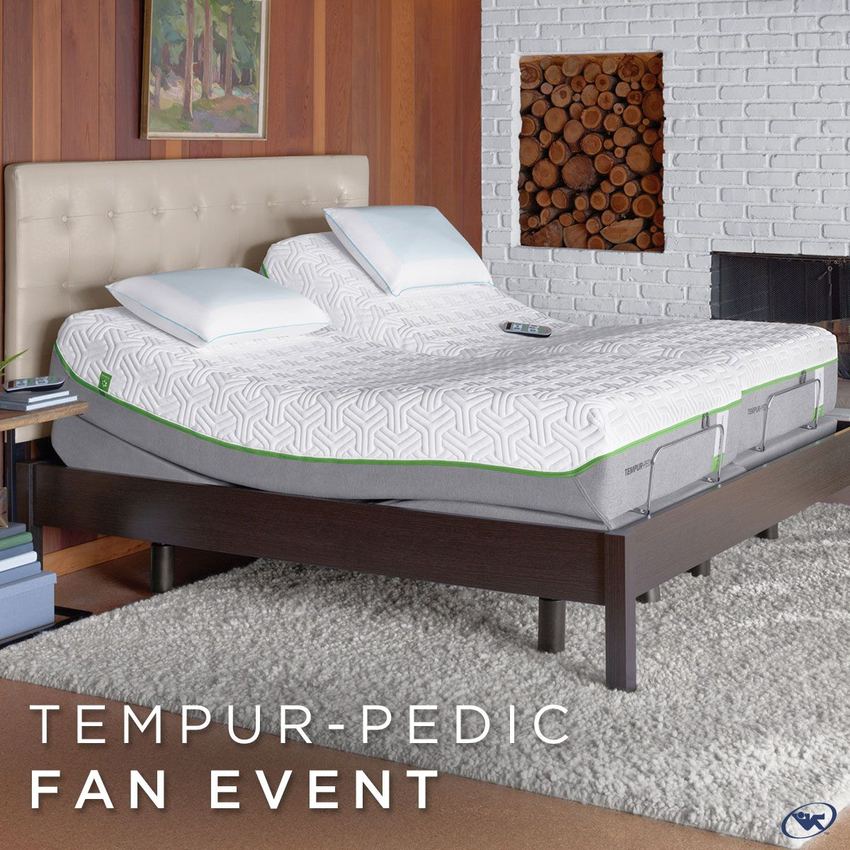 save big during our tempur pedic fan event going on through memorial
