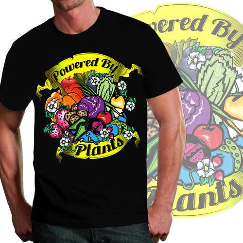 Designs | Vegan shirt american traditional tattoo style | T-Shirt contest www.cocogreensnashville.com