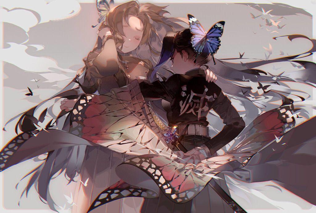 河cy 蟲柱 Kanae Shinobu Demon Slayer Republished W Permission Follow Me On Twitter Anime Anime Images Anime Demon