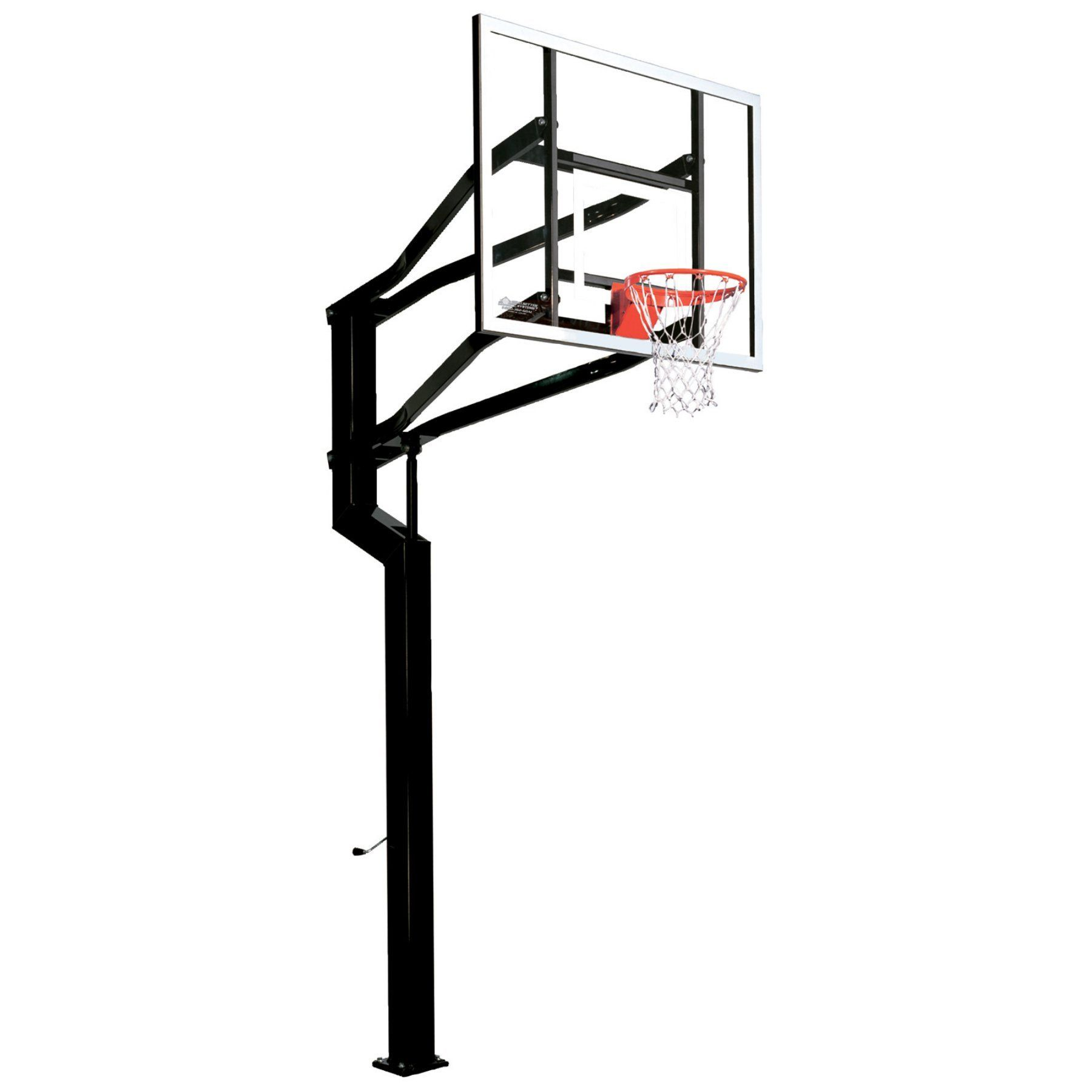 goalsetter captain basketball system 60 inch backboard ss46060a3