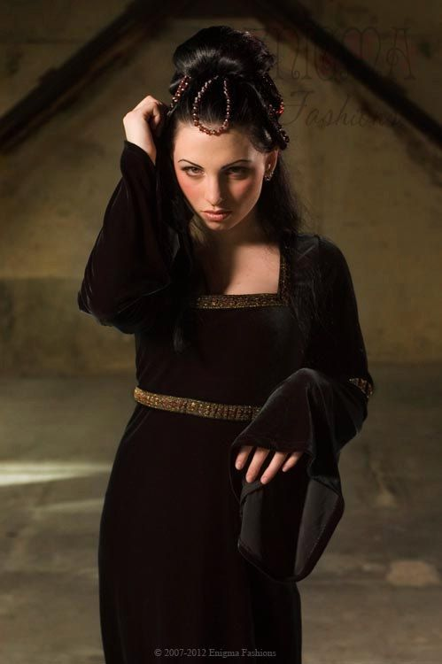 Gothic Celtic inspired gown. http://www.etsy.com/shop/EnigmaFashions?ref=seller_info