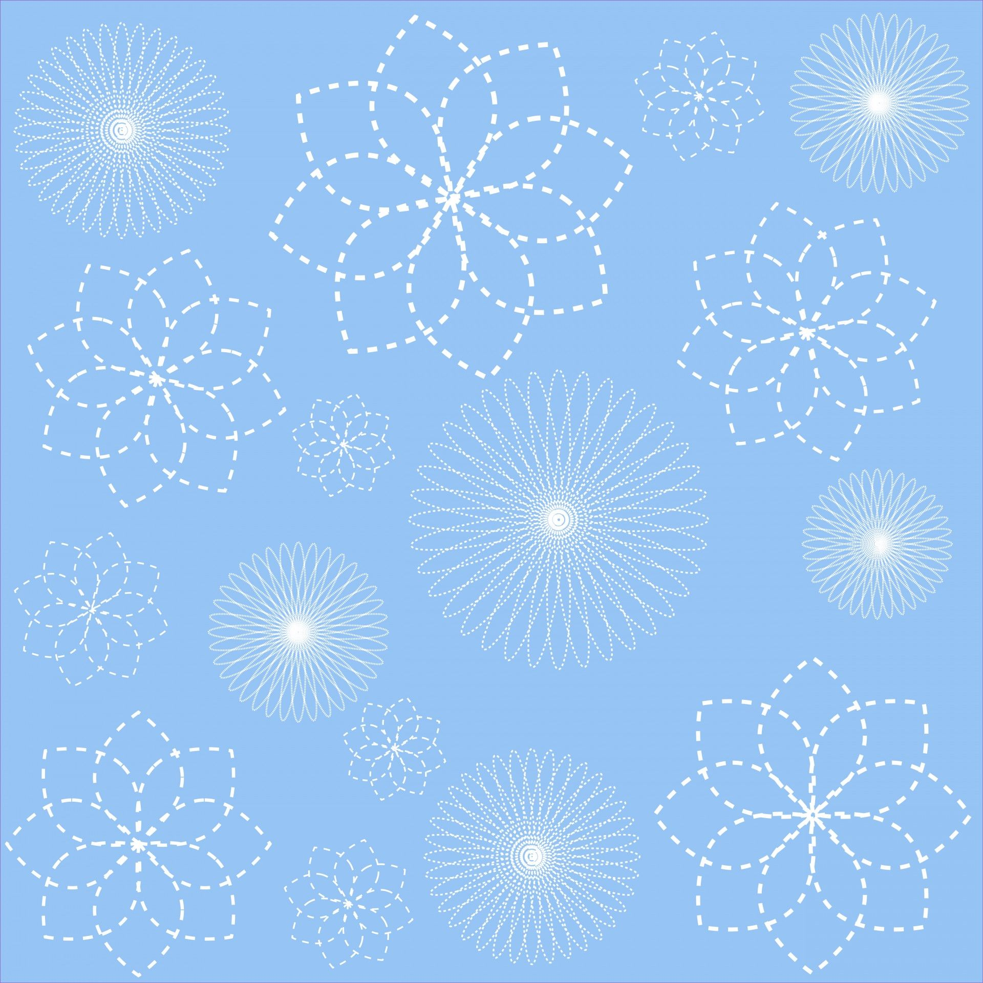 Floral Spirals Wallpaper Background Free Stock Photo HD - Public Domain Pictures