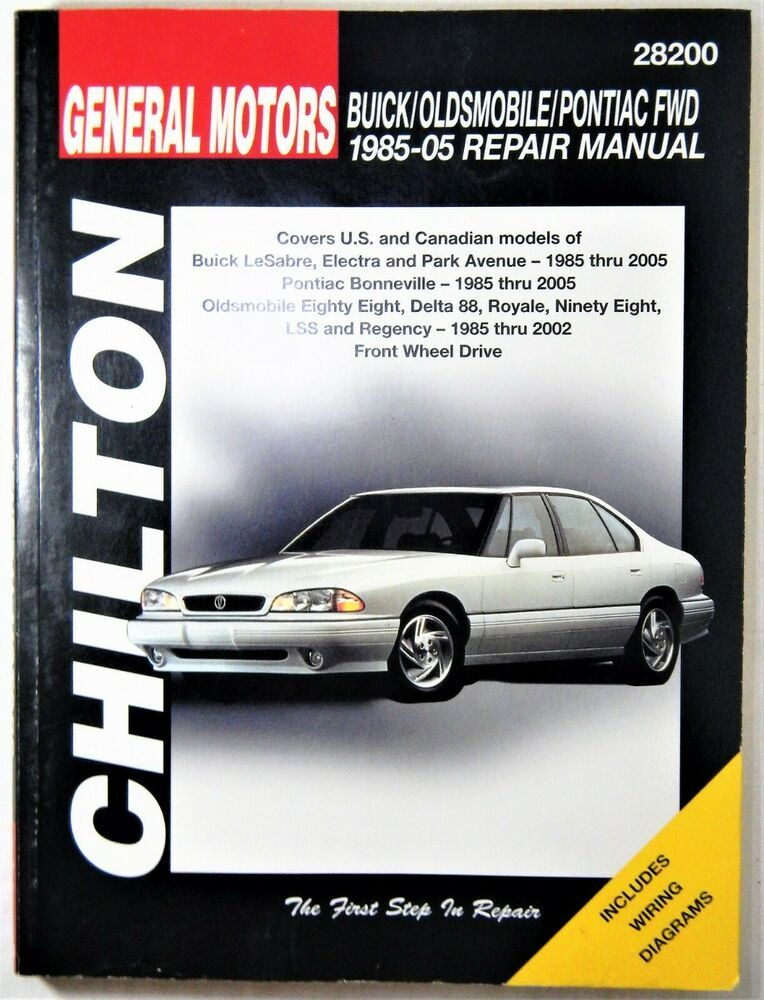Chilton Repair Manual Buick Oldsmobile Pontiac Fwd 1998 2005 28200 Chilton Repairmanual Buick Oldsmobil Chilton Repair Manual Oldsmobile Repair Manuals