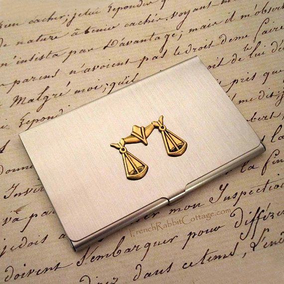 Attorney Gift Lawyer Business Card Case Law School Graduate
