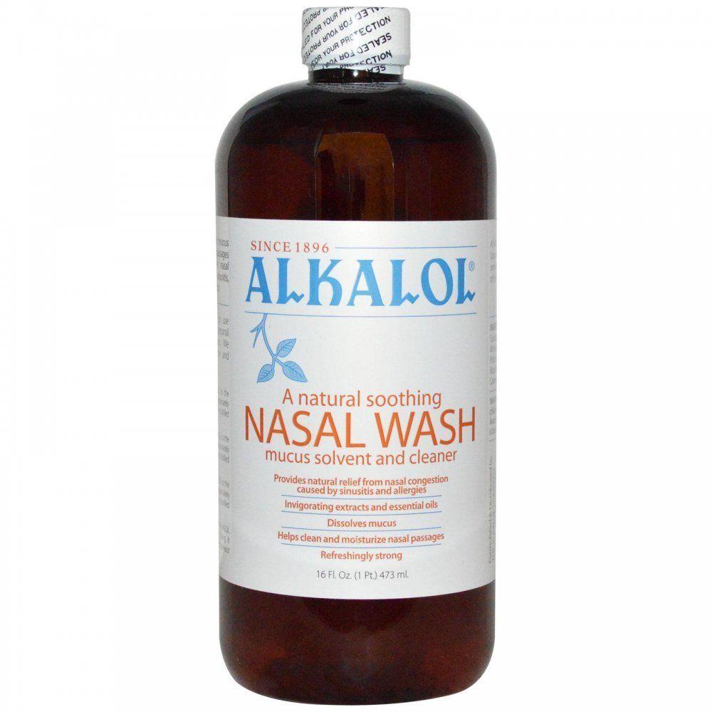 Alkalol Nasal Wash 16 fl oz Health