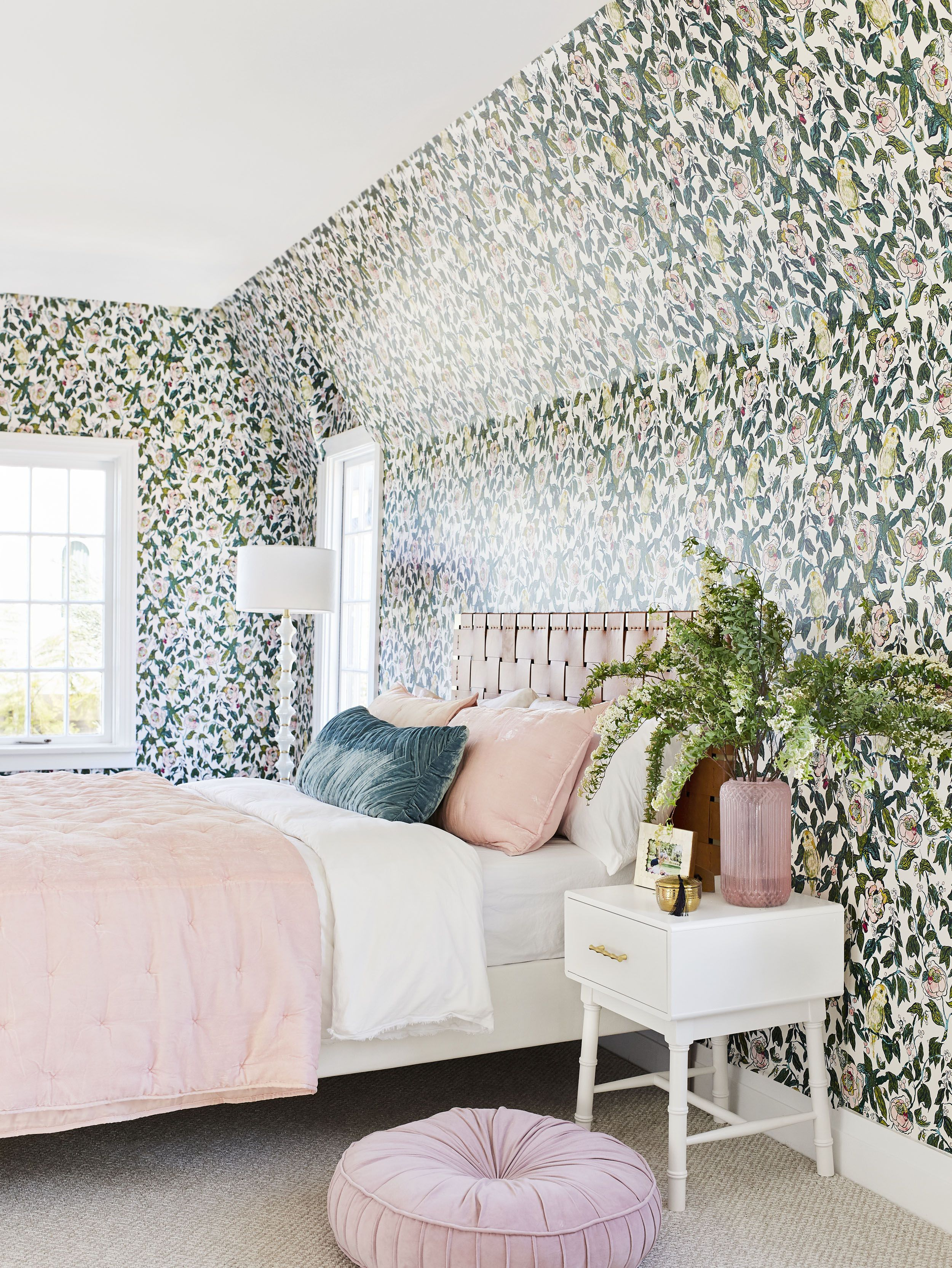 Vintage master bedroom decor  A Romantic Glam Bedroom Makeover With Opalhouse By Target  Maybe