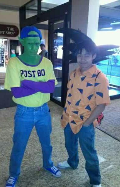 Best DBZ cosplay EVER (from the episode where they get their licenses)