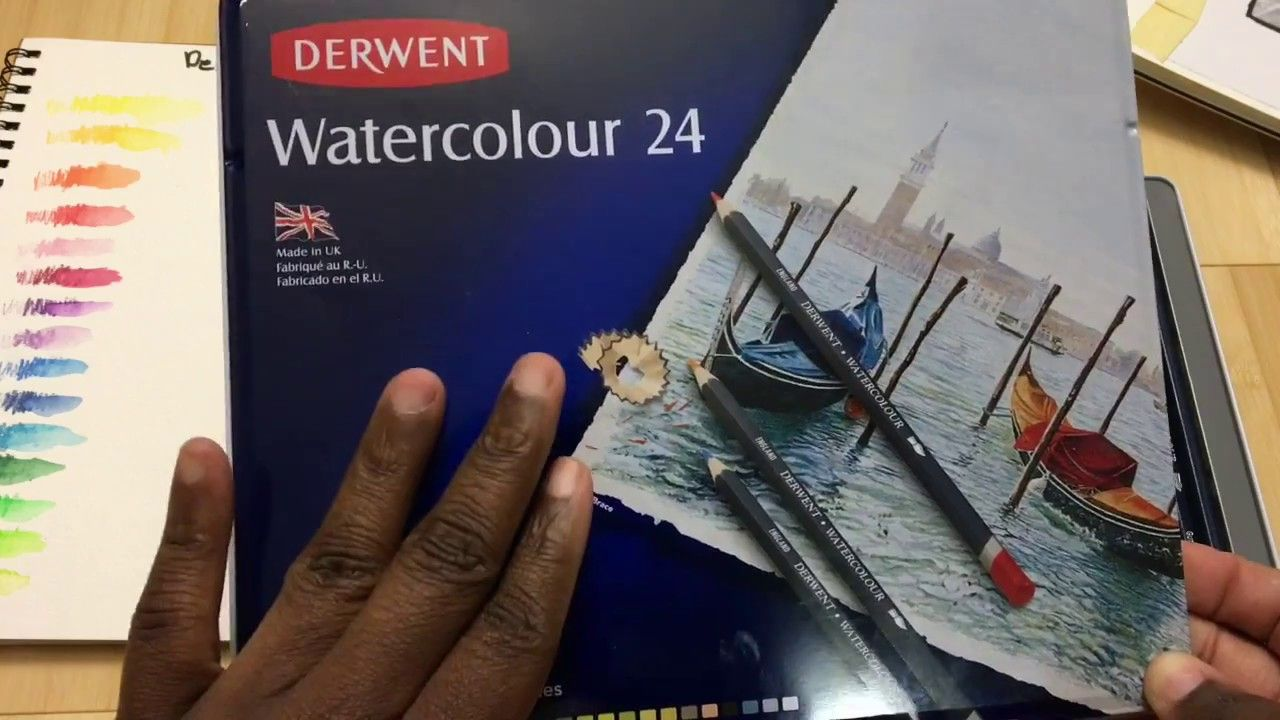 Review Of Derwent Watercolor Pencils For Art And Adult Coloring Books