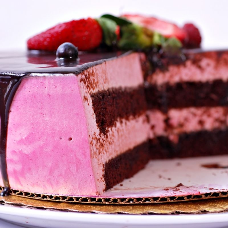 Chocolate Raspberry Creams Dunmore Candy Kitchen: This Raspberry Chocolate Mousse Cake Is Delicious And Such