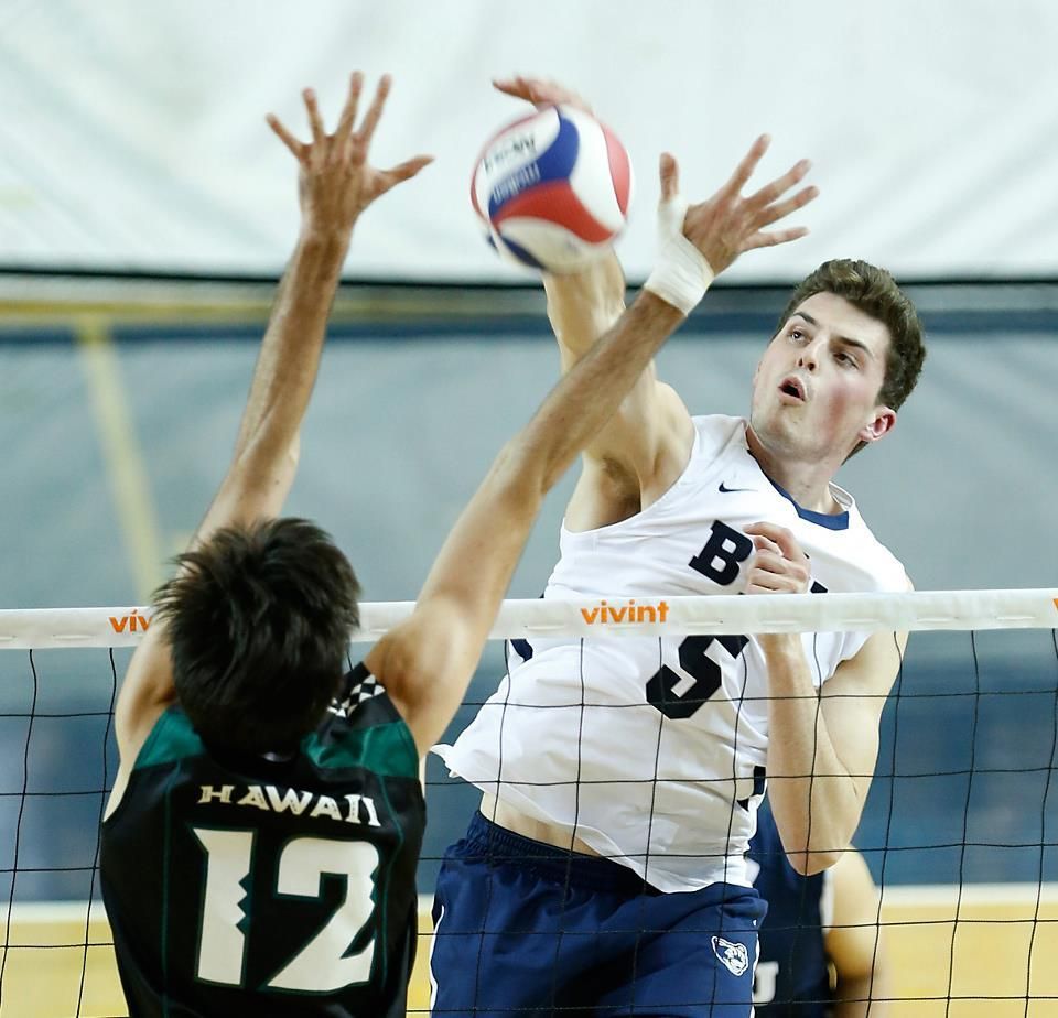 Russ Lavaja Byu Hawaii Mpsf Tournament Quarterfinals Byu Wins 3 2 Semifinals Against No 4 Seed Ucla On Thursday Ap With Images Byu Hawaii Mens Volleyball My Boys