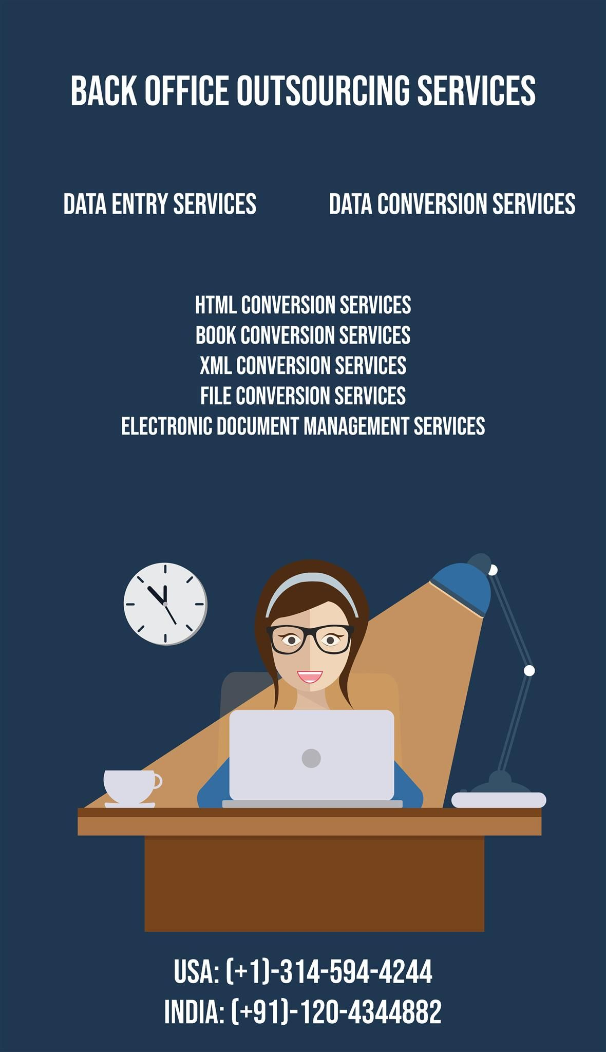 Back office outsourcing call center service