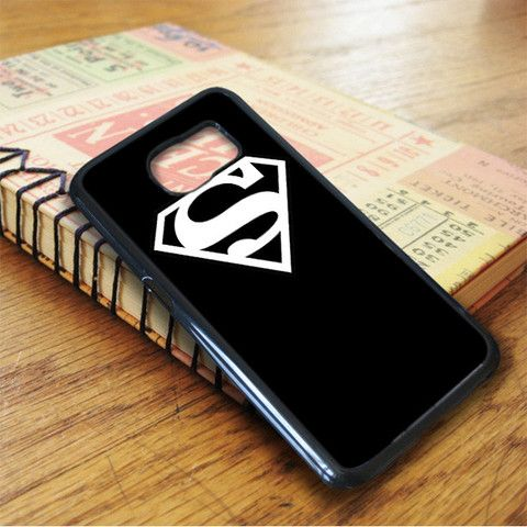 Black Superman Samsung Galaxy S7 Case