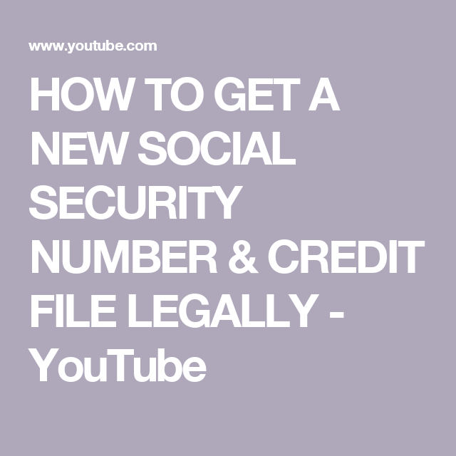 40f007fa9d30f9e53bc2c37afe797482 - How To Get A Brand New Social Security Number