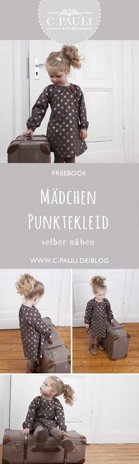 Photo of Mädchenkleid Freebook mit Raglan-Ärmeln & Nähanleitung | Nähtalente