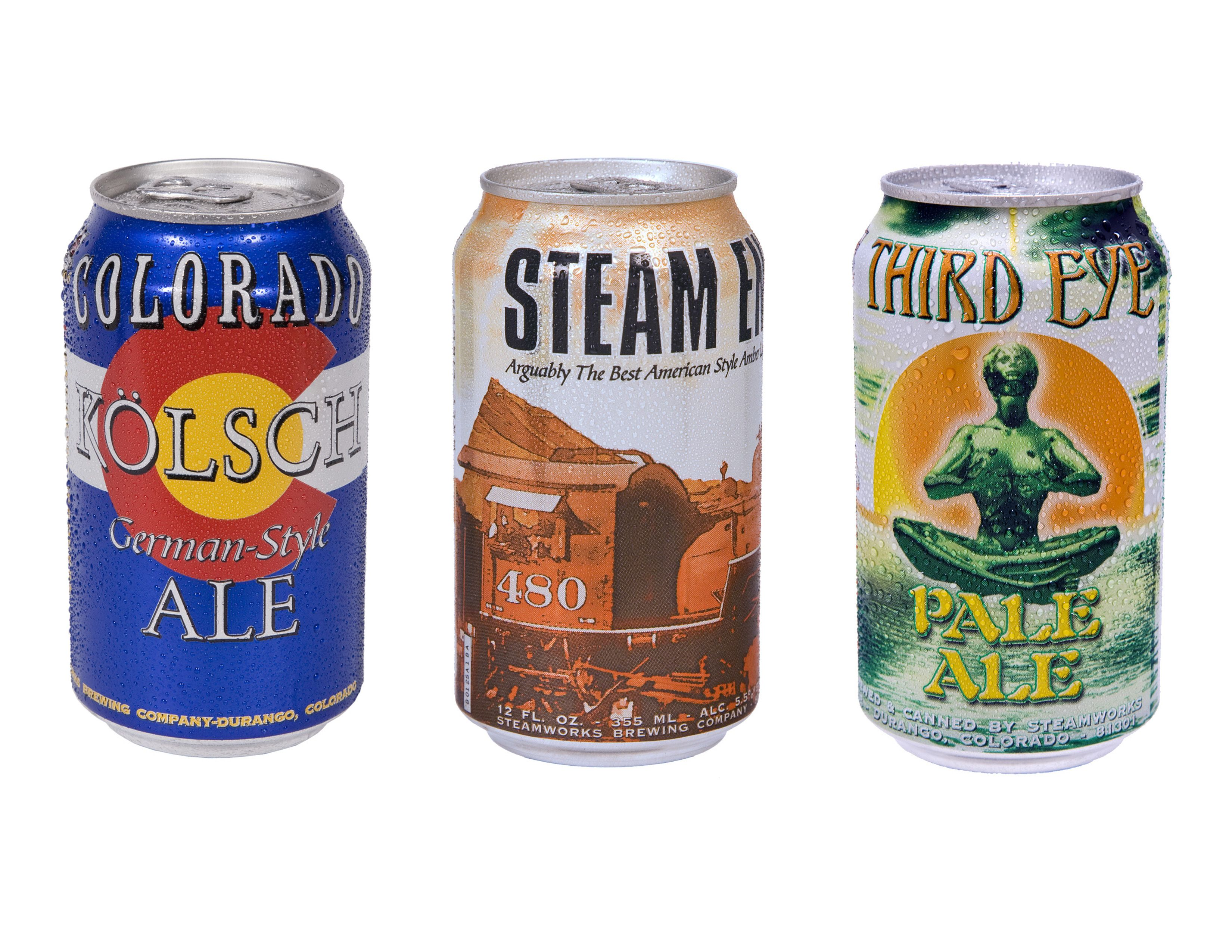 Canned Beer By Steamworks Brewing Co Durango
