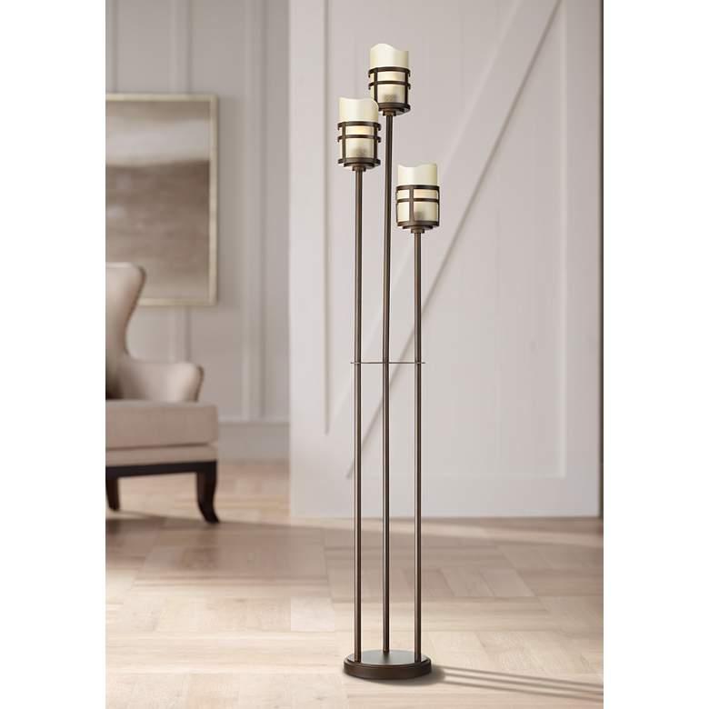 Carob Oil Rubbed Bronze 3 Light Tree Floor Lamp 79x78 Lamps Plus In 2020 Floor Lamp Styles Tree Floor Lamp Floor Lamp