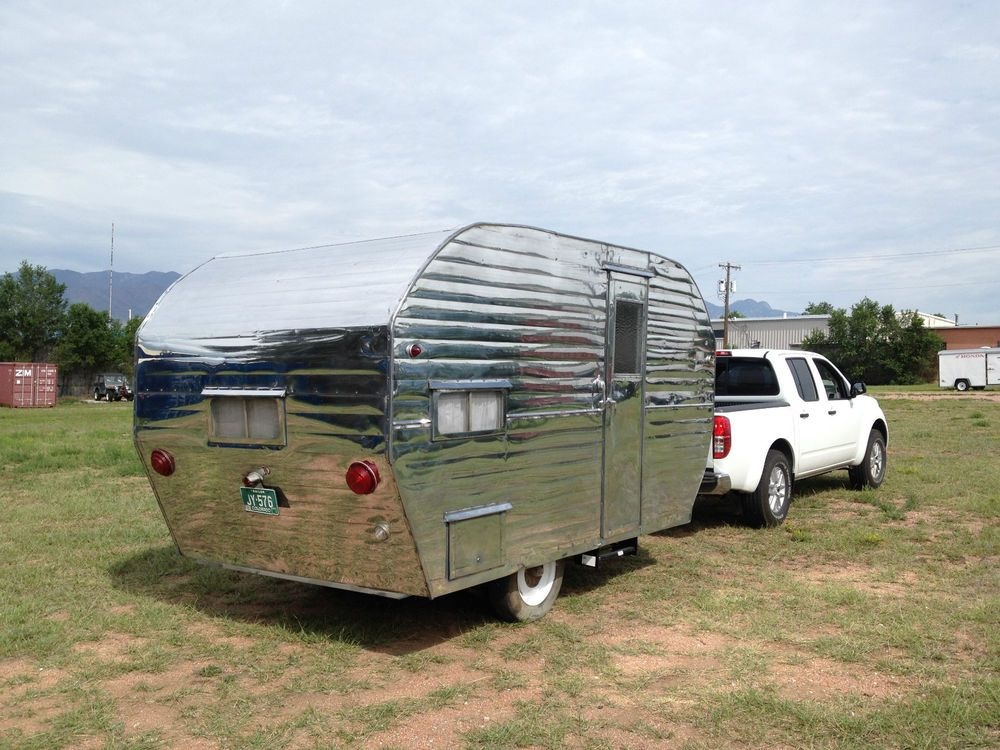Vintage Travel Trailer 1955 Mobile Lodge 14 Camper Vintage Travel Trailers Travel Trailers For Sale Travel Trailer
