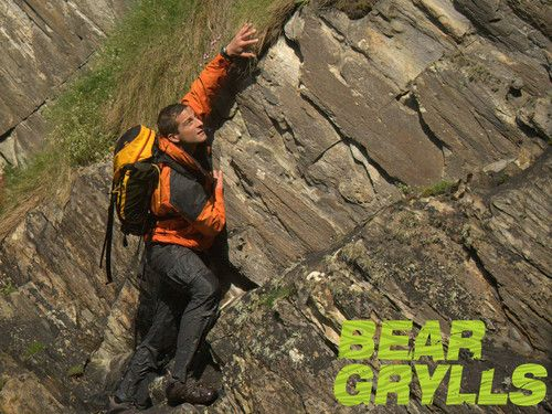 Bear grylls nude in themal image