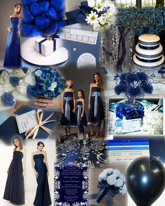 Navy Blue Wedding Decorations Gowns Red Carpet Inspiration For Midnight Or