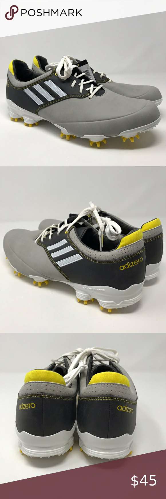Entrelazamiento atención volumen  Adidas | Men's Adizero Tour Golf Shoes Size 10.5 | Adidas men, Golf shoes,  Shoes mens