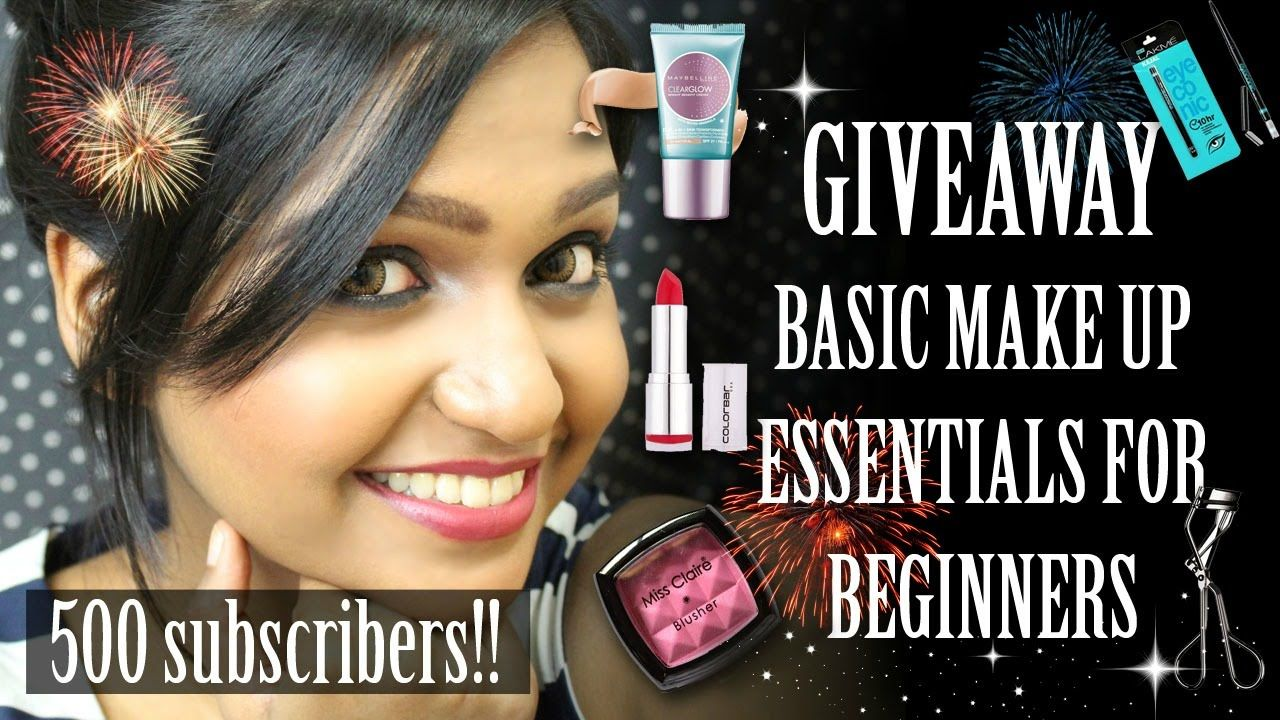 BASIC Makeup kit essentials for BEGINNERS GIVEAWAY (With