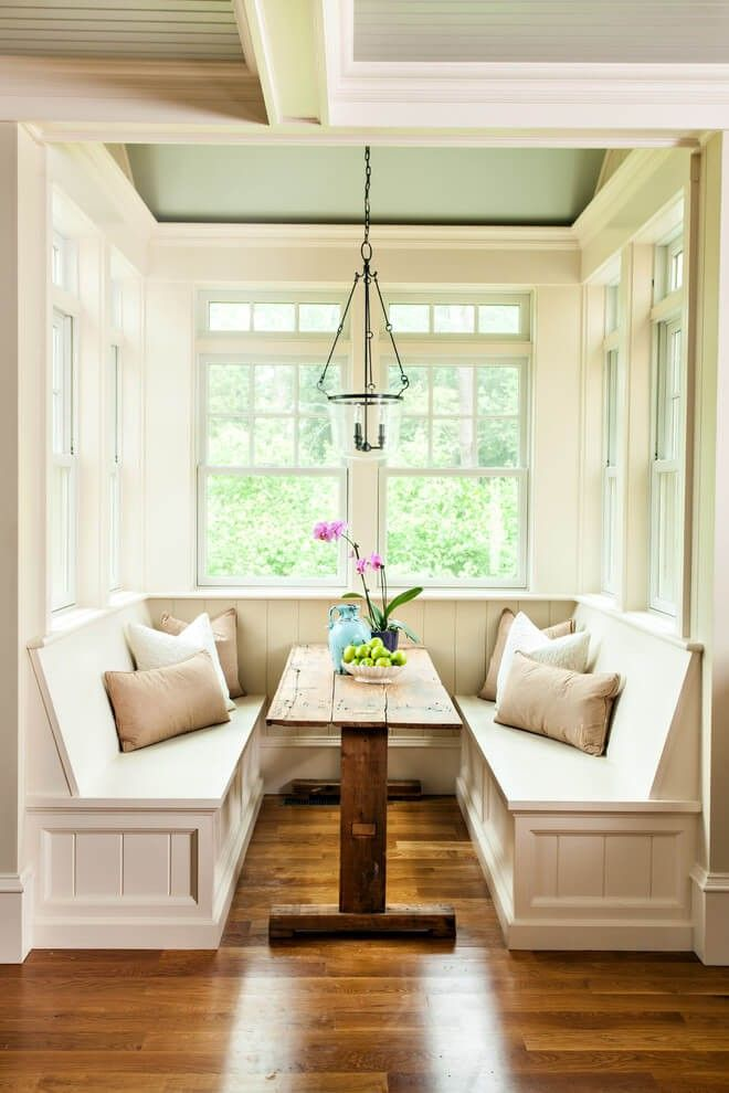 Rustic Breakfast Nook Ideas Home Home Decor Built In Furniture