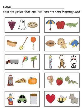 Alliteration Worksheet | Alliteration, Preschool worksheets ...