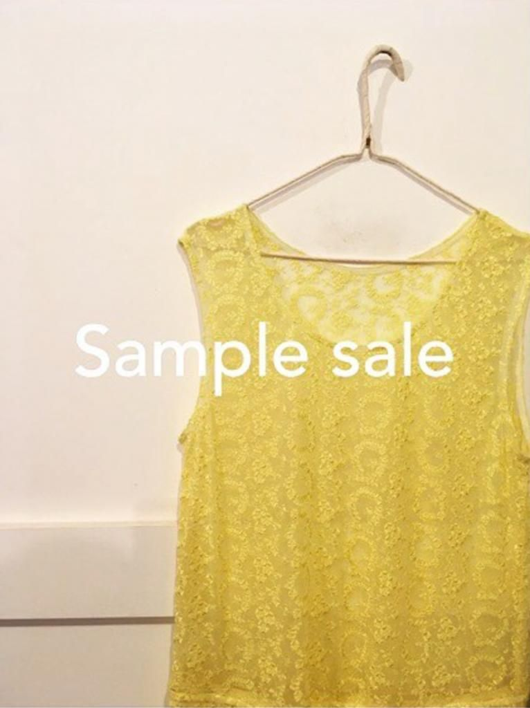 EASTBYEASTWEST Sample Sale coming up in London! #london - sample event