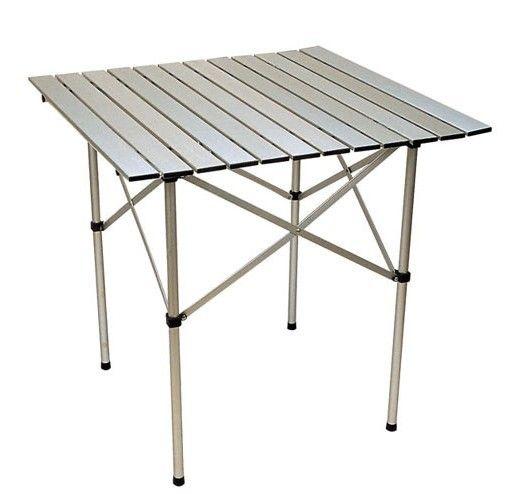 folding table / portable aluminum camping table (evs4005t)   white