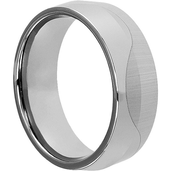Jekyll Mens Wave Unique Rings Forever Metals Tungsten Wedding Bands Unique Mens Rings Men S Wedding Ring