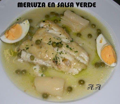 Mi diario de Weight Watchers Entulinea: Merluza en salsa verde 7pp