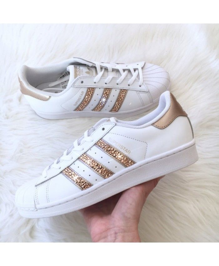 adidas superstar with swarovski