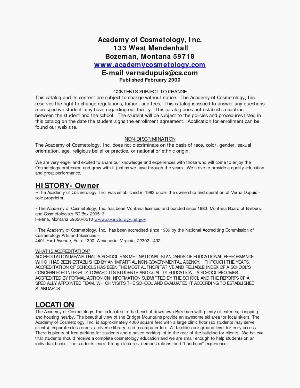 25 Cosmetology Resume Templates Free in 2020 Resume