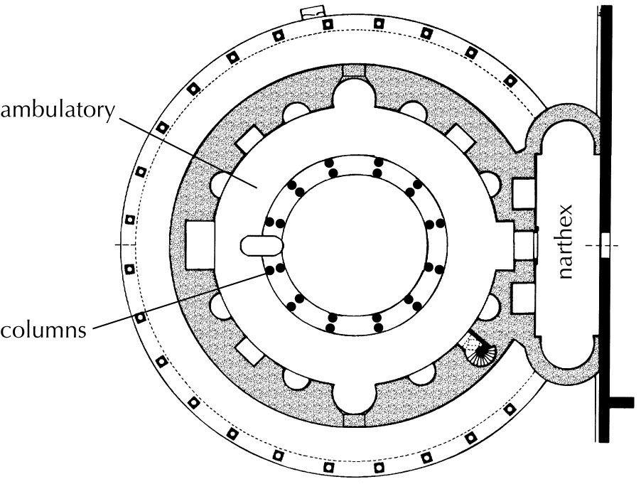 Sta Constanza Plan Architecture