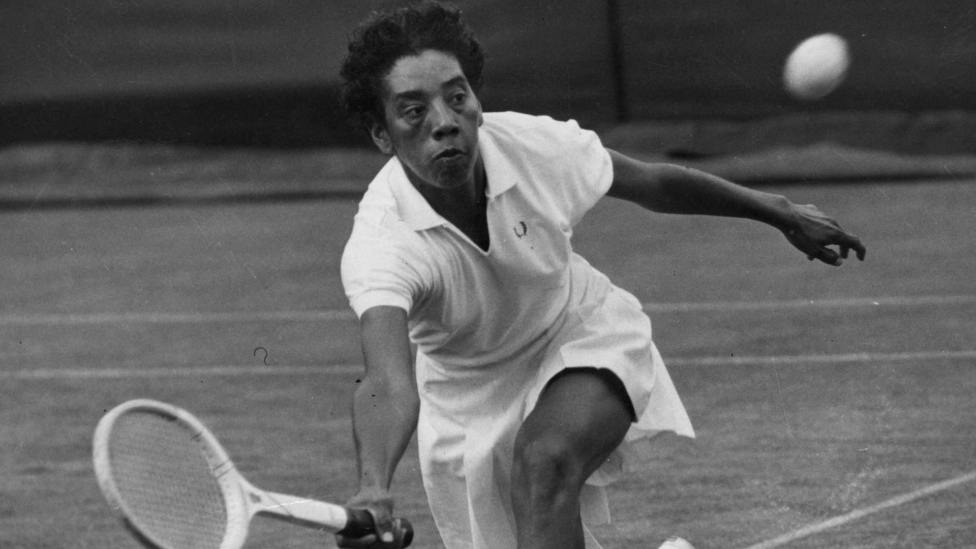 On this day in History, Althea Gibson is first African