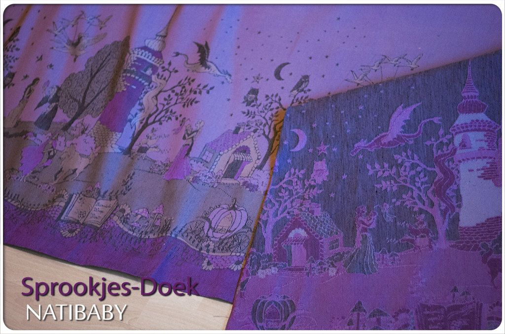 Natibaby Sprookjes Doek Fairytale Wrap 214 Wrap Linen Baby