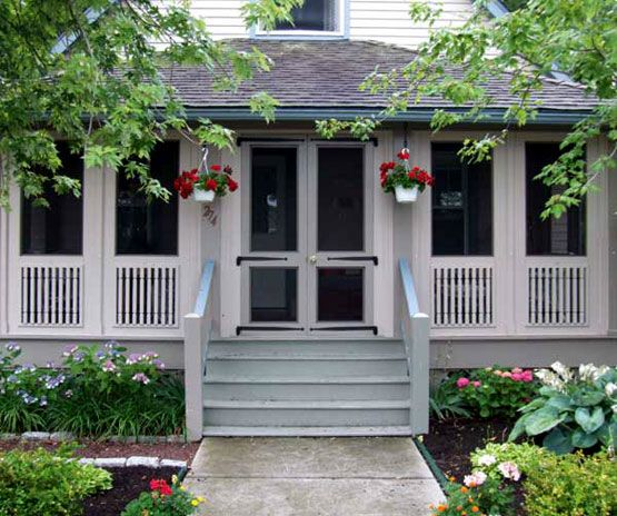 Elements Of A Porch Screened Front Porches Porch Design