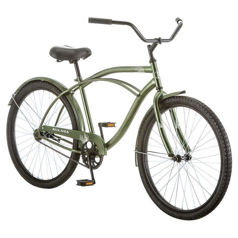 Men S Kulana 26 In Green Cruiser Bike Cruiser Bike Bicycle